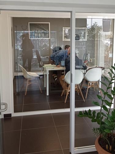 bureaux cloisons vitrées
