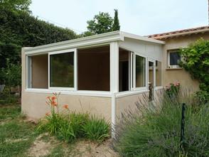 veranda blanche panneau isolant
