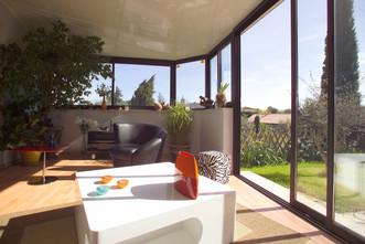 veranda toiture sandwich moderne