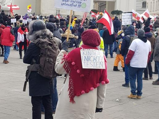 13.02.2021: Wien wird sich noch zur Demo–Metropole Österreich entwickeln