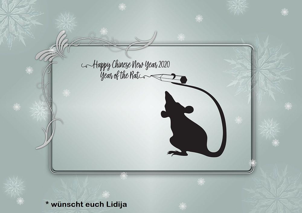 Dieses Jahr ist das chinesische Jahr der Ratte.