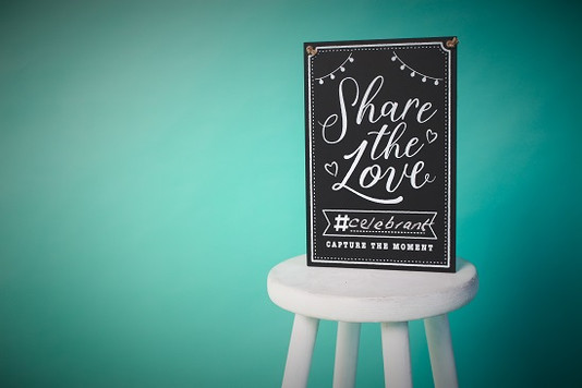 Share the Love - book an independent celebrant