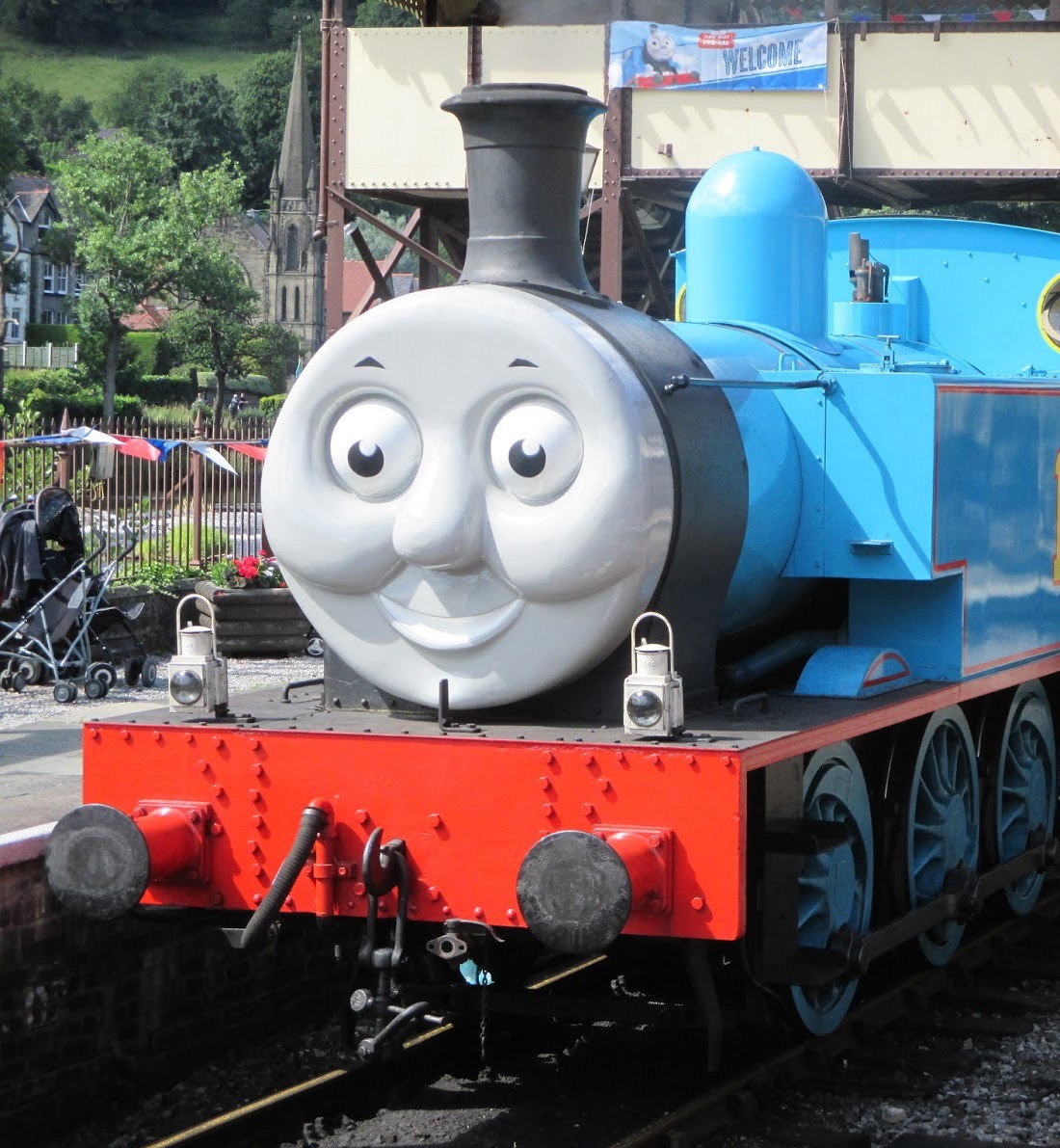 Thomas at Llangollen