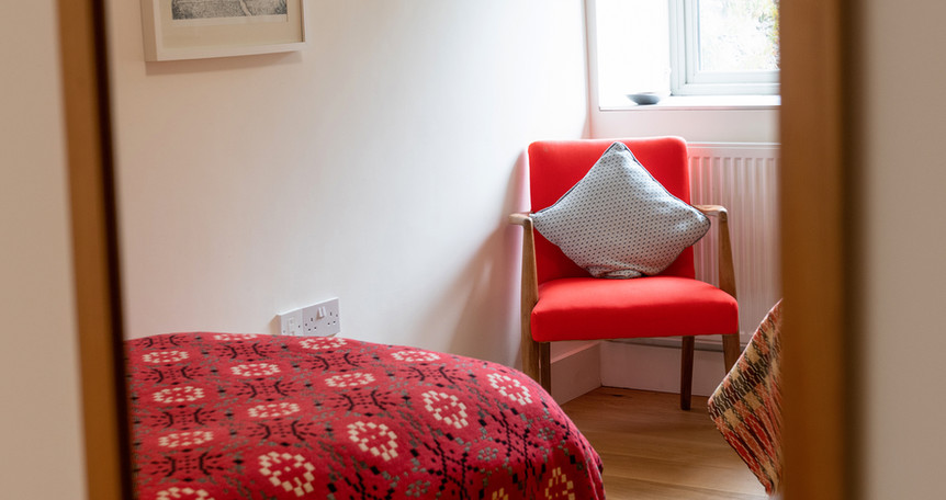 Barn twin bedroom