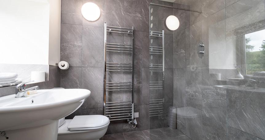 Barn ensuite shower room