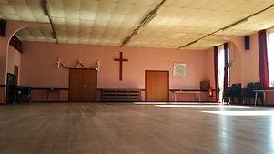Church Centre interior