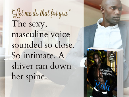 A shiver ran down her spine #SexySnippets #Erotic #Romance Kola