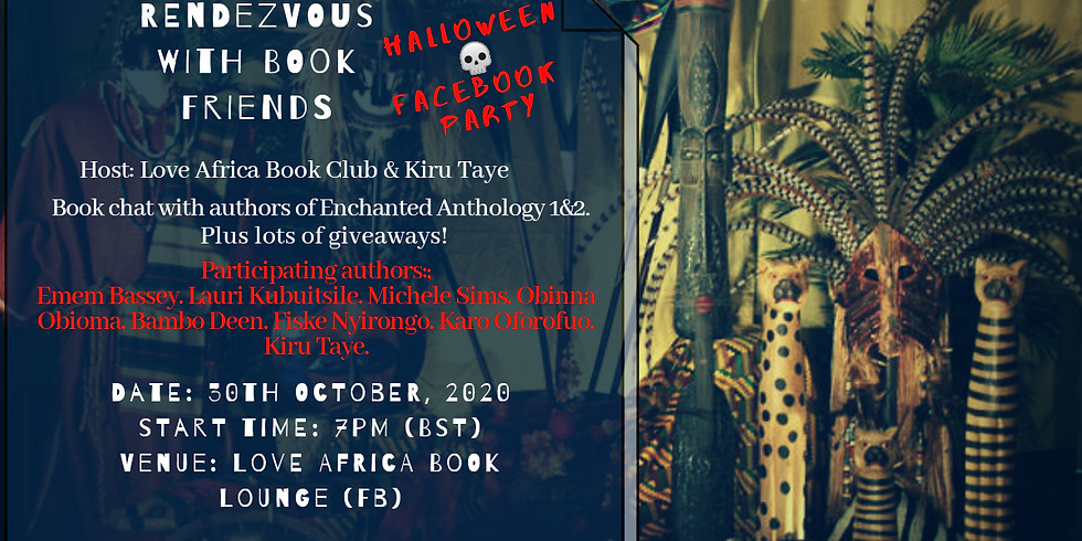 Rendezvous with Book Friends (Halloween Party)