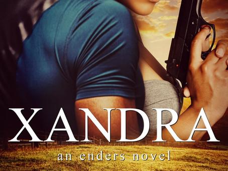 Check out the book cover for Xandra #ComingSoon #RomanticSuspense