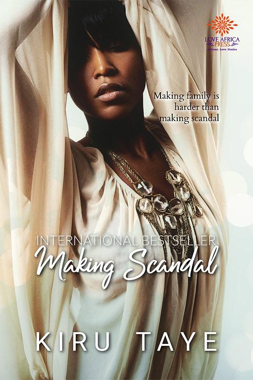 Making Scandal Paperback | Kiru Taye