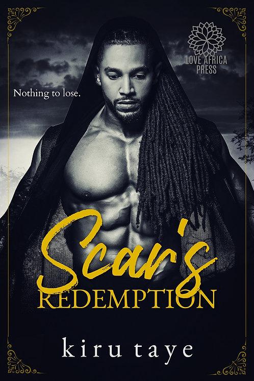 Scar's Redemption paperback | Kiru Taye