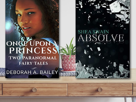 BOOK REVIEW: Once Upon A Princess duet by Deborah A Bailey | Absolve by Shea Swain