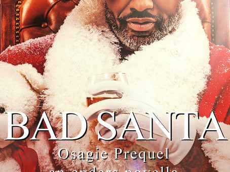 BOOK REVIEW - Osagie: Bad Santa @KiruTaye #RomanticSuspense #99c