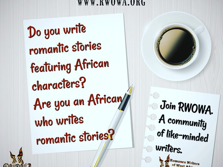Are you an African who writes romantic stories? @rwowa