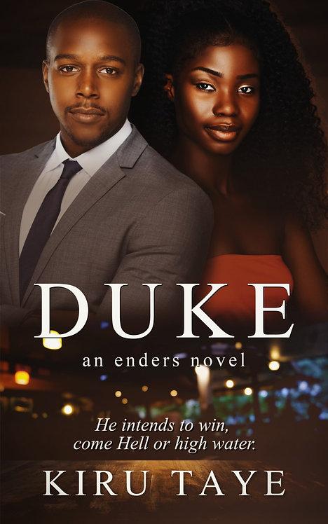 Duke: Prince of Hearts paperback | Kiru Taye