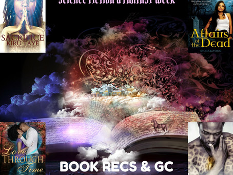Escape with these fantastical stories. Enter the #giveaway #SFFWeek @lovebitessilk