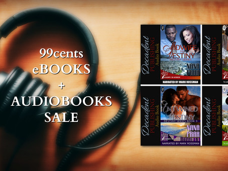You need to listen to these: Destiny Series by @NanaPrah #99cents #Romance #Audiobooks