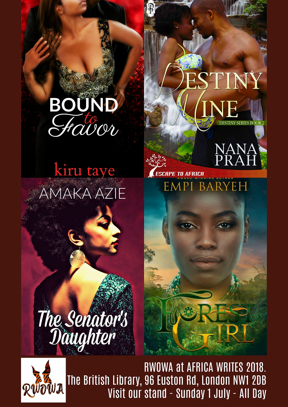 African Romance, books, African authors