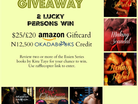 Why you should write a #bookreview or two #giveaway