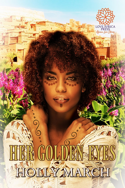 Her Golden Eyes paperback | Holly March