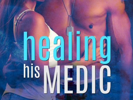 She is looking for salvation. He just wants to do his job. Healing His Medic @NanaPrah #RomanticSusp