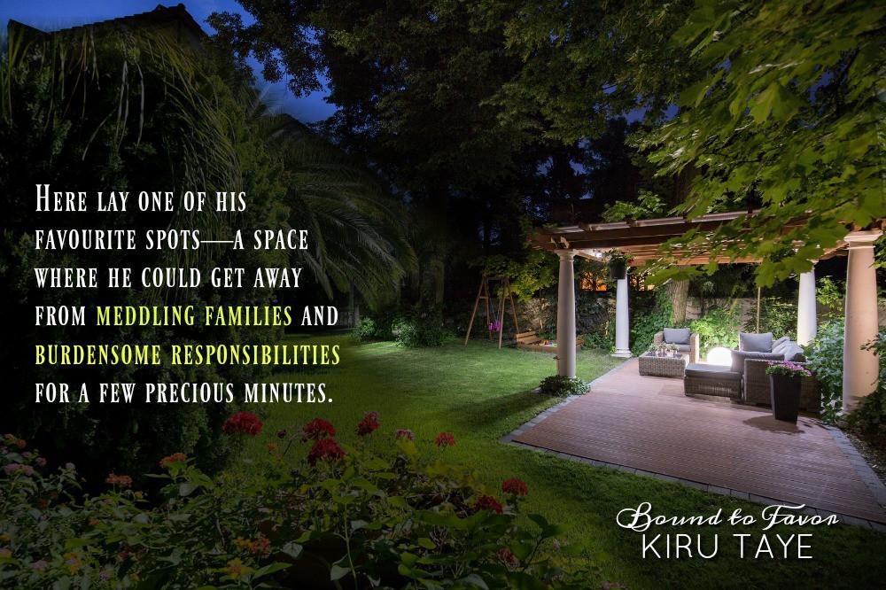Garden, gazebo, summer house