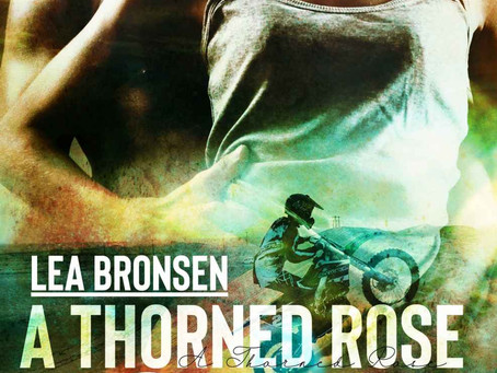 A Thorned Rose in the Sand by Lea Bronsen #MidWeekTease #IRRomance