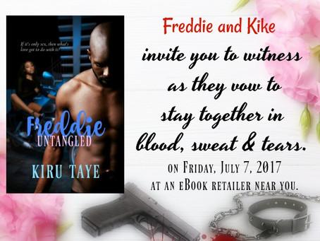 Make a date with Freddie and Kike #bookrelease #romanticsuspense #Africa