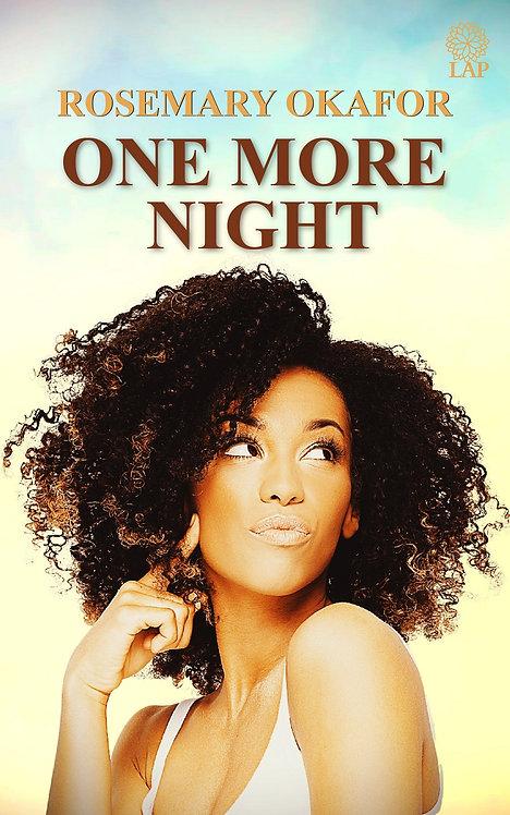 One More Night paperback | RosemaryOkafor
