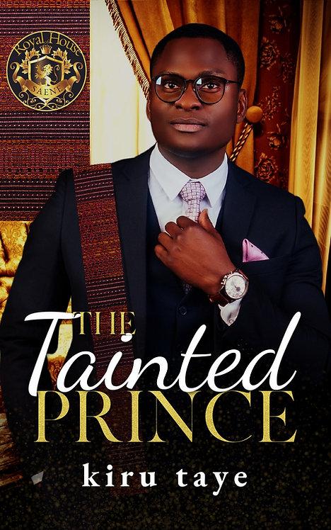 The Tainted Prince paperback | Kiru Taye