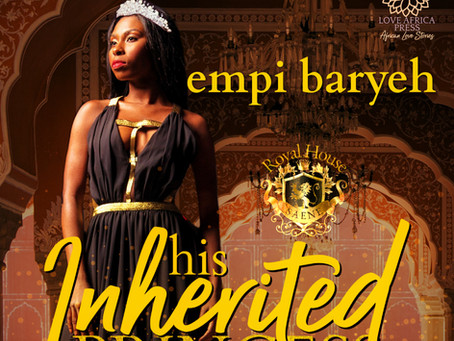 AUDIOBOOK ALERT: His Inherited Princess by Empi Baryeh #contemporaryromance #RHOSaene