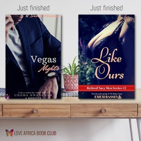 BOOK REVIEW: Vegas Night by Unoma Nwankwor   Like Ours by Emem Bassey #Romance