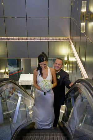 sposi scale mobile, fotografo matrimonio Novara,