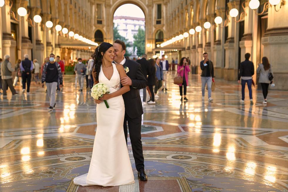 Sposi in galleria