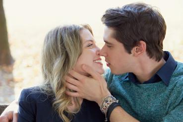 Fidanzati bacio innamorati