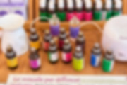 fiale colorate miscele per diffusori fotografo eventi novara