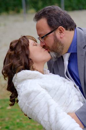 bacio sposi, casquè, fotografo matrimonio novara, matrimonio