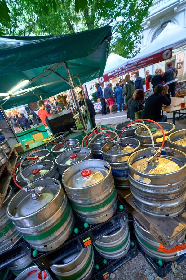 fusti di birra Novara Summer Music fotografo eventi Novara