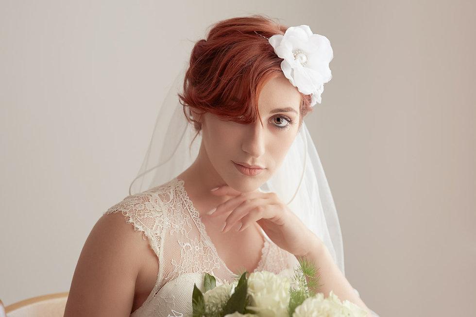 Sposa con velo, Fotografo matrimonio Novara