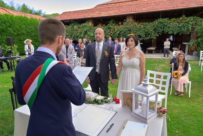 cerimonia civile all'aperto, fotografo matrimonio Novara,