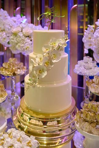 confettata e torta, matrimonio