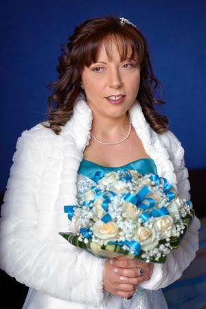 sposa e bouquet, mezzobusto sposa, fotografo matrimonio Novara,