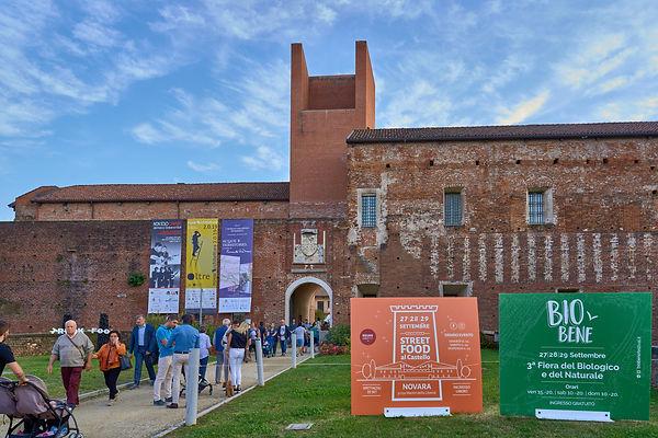bio street festival street food castello fotografo eventi Novara