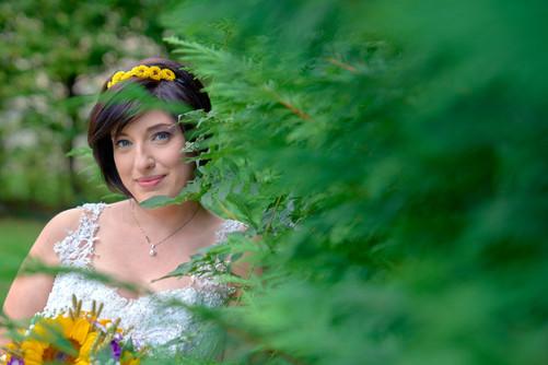 ritratto alla sposa, al castello Sillavengo, fotografo matrimonio Novara,