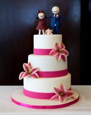 Torta di nozze per il matrimonio