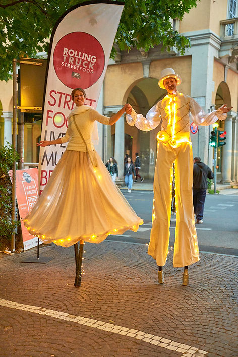 trampolieri fotografo eventi Novara