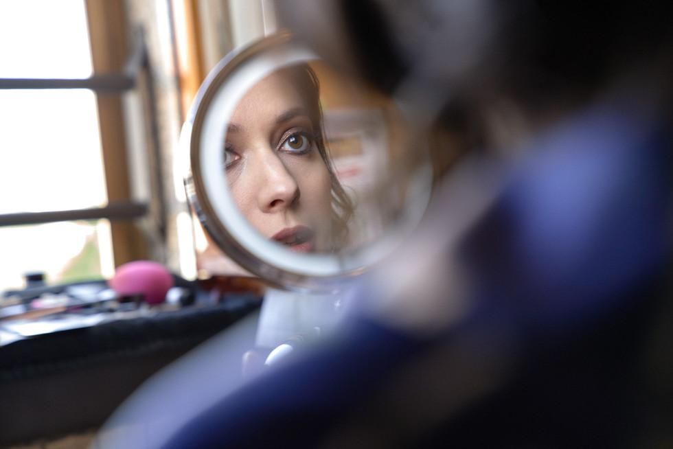 specchio sposa, preparativi, fotografo matrimonio Novara,