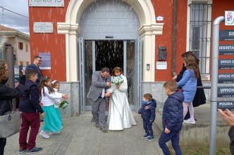 lancio del riso, fotografo matrimonio Novara,
