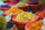Frutta secca colorata street foodfotografo eventi novara