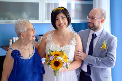 sposa ritratto di famiglia, fotografo matrimonio Novara,
